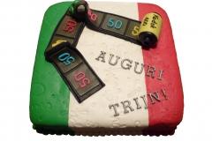Italiaanse Fototaart (20x20 cm)