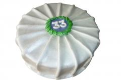 Plooientaart (20 cm)
