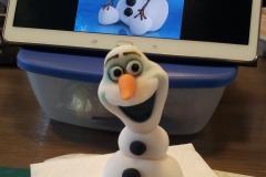 Olaf in de maak