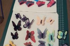 Onderdelen vlindertaart